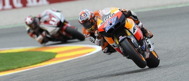 Casey Stoner - Photo Credit: Bridgestone