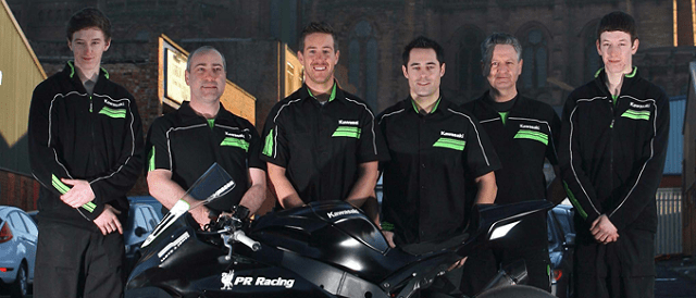 The 2012 PR Racing line-up - Photo Credit: Double Red
