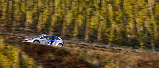 Polo R WRC in action - Photo credit: Volkswagen