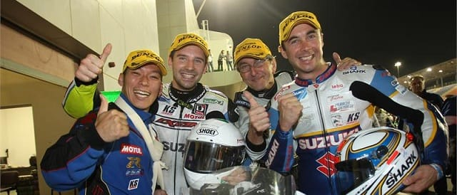 The Suzuki Endurance Racing Team - Photo Credit: David Reygondeau/www.good-shoot.com