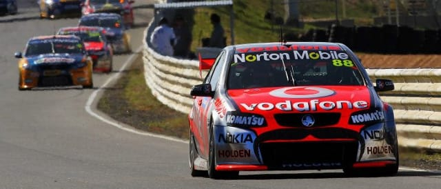 Jamie Whincup (Photo Credit: Team Vodafone)