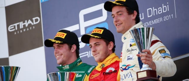 Luiz Razia, Fabio Leimer and Jolyon Palmer - Photo Credit: Alastair Staley/GP2 Media Service