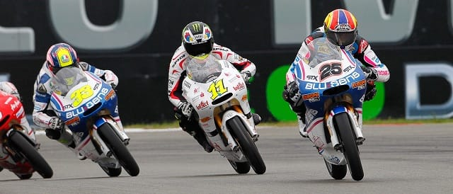 125cc action at Assen - Photo Credit: MotoGP.com