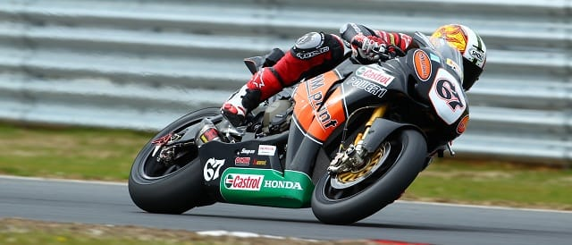 Byrne returned after two years away to win the opening race of the year (Photo Credit: Honda Racing)