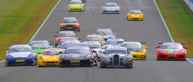 The GT Cup Championship will begin and end the 2012 season at Donington Park
