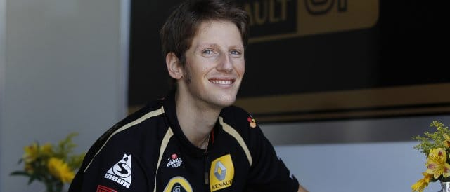Romain Grosjean - Photo Credit: Andrew Ferraro/LAT Photographic
