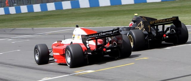 Rio Haryanto and Giovanni Venturini - Photo Credit: Auto GP
