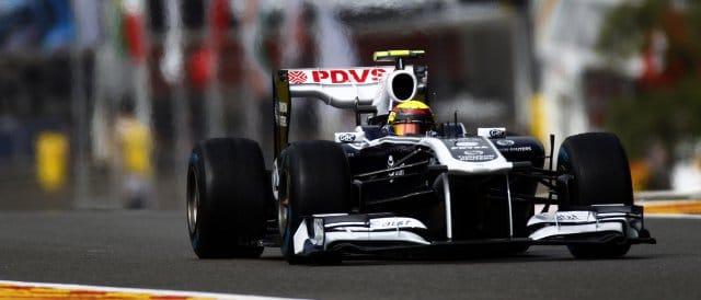 Maldonado's best result of 2011 came at Spa-Francorchamps where he finished tenth - Photo Credit: Glenn Dunbar/LAT Photographic