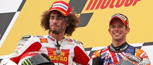 Marco Simoncelli & Casey Stoner - Photo Credit: MotoGP.com