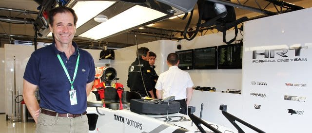 Perez-Sala joined the team back in July as an advisor to the new owners - Photo Credit: HRT