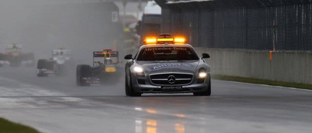 AMG also supply Formula 1 with the safety car and medical car - Photo Credit: Pirelli