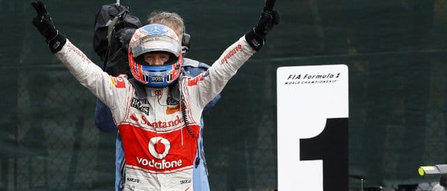 Button took a fantastic victory in Canada - a race that was arguably the best of 2011 - Photo Credit: Vodafone McLaren Mercedes