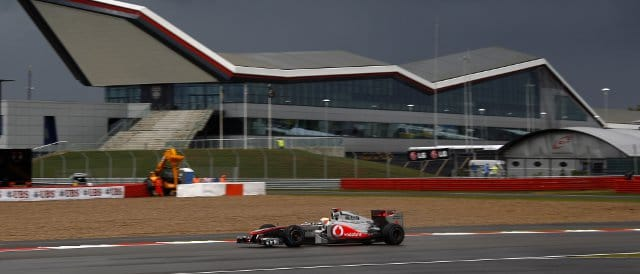 The British Grand Prix this season was the first F1 race that used the new Silverstone 'Wing', but Lewis Hamilton was the highest place Brit, finishing fourth - Photo Credit: Vodafone McLaren Mercedes