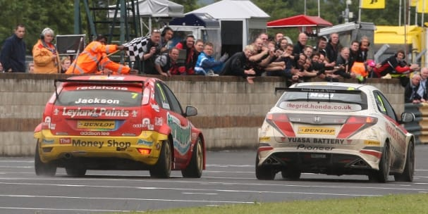 Matt Neal and Mat Jackson, Croft (Photo Credit: btcc.net)