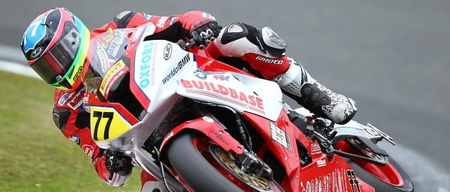 Burrell on the Buildbase BMW in 2011