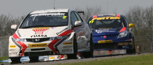 BTCC action from Donington's 2011 weekend (Photo Credit: BTCC.net)