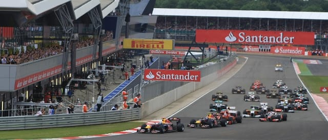 The start of the British Grand Prix at Silverstone (Photo Credit: Silverstone Circuits)