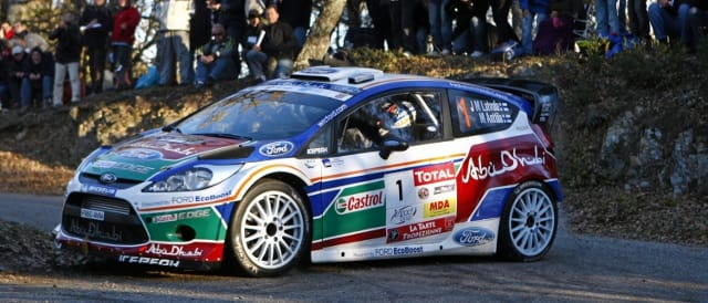 Ford Fiesta WRC (Photo Credit: Word Rally Pics)