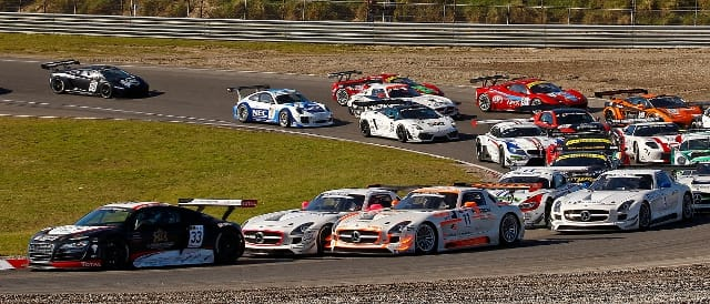 GT3 European Championship at Zandvoort, 2011 (Photo Credit: DPPI)