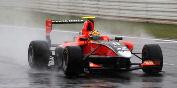 Rio Haryanto (Photo Credit: Alastair Staley/GP3 Media Service)