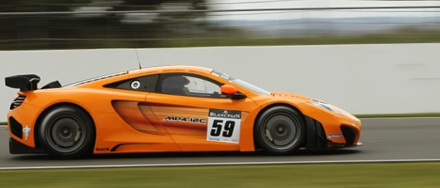 McLaren MP4-12C (Photo Credit: VIMAGES/Fabre)