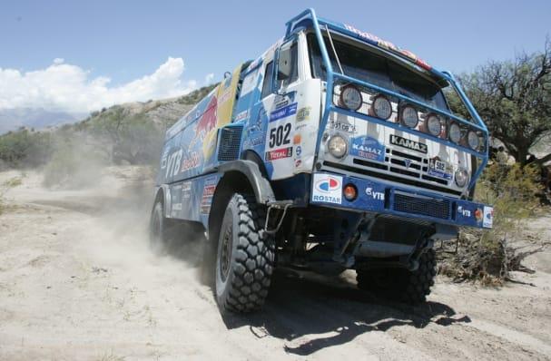 Kamaz, Dakar Rally (Photo Credit: Pressesports)