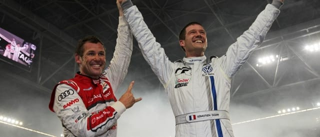 Tom Kristensen and Sebastien Ogier - Photo Credit: Race of Champions