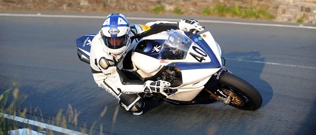 Steve Mercer at the 2011 Isle of Man TT - Photo Credit: Isle of Man TT