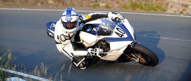 Steve Mercer at the 2011 Isle of Man TT - Photo Credit: Isle of Man TT