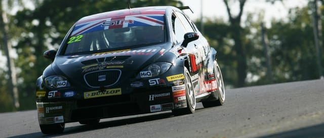 STR's Tom Boardman during 2011 (Photo Credit: BTCC.net)