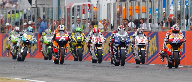 The MotoGP race gets underway at Misano - Photo Credit: MotoGP.com