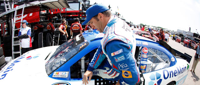 Sadler gets the nod for the 2012 Daytona 500 with RCR - Credit: Chris Graythen/Getty Images