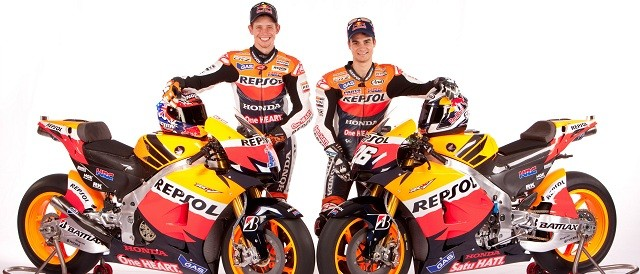 The launch of the Repsol Honda RC213V - Photo Credit: Repsol Honda