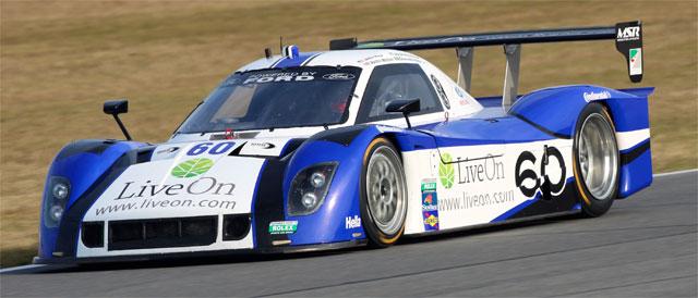 #60 Michael Shank Racing car leads the way - Credit: Grand-AM
