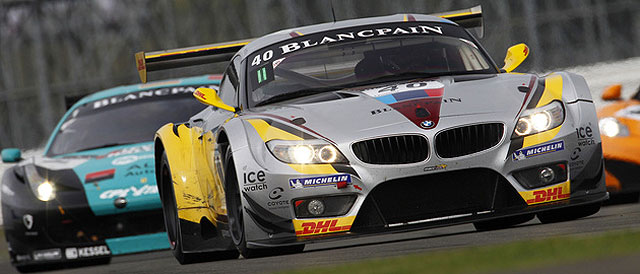 BMW Z4 in action in 2011