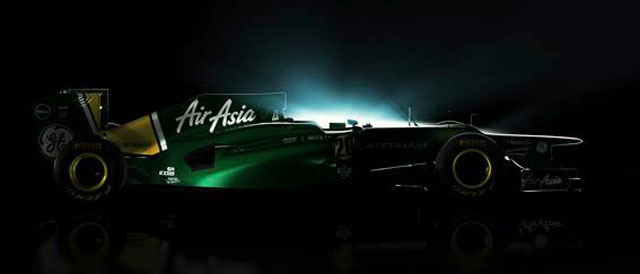 The 2012 Caterham F1