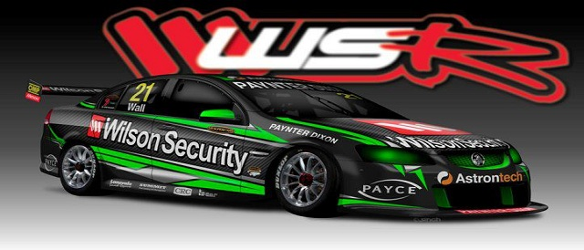 David Wall's WSR #21 Holden V8 Supercar Photo credit: Brad Jones Racing