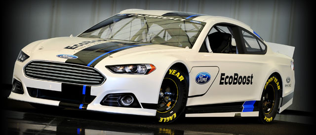 2013 Ford Fusion NASCAR Sprint Cup Series Car - Credit: Ford Racing