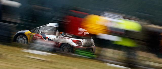 Mikko Hirvonen in action - Credit: Citroen Racing