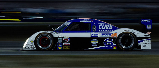 Star of the hour - #6 Michael Shank Racing car in the hands of Daytona rookie Felipe Nasr - Credit: James Boone