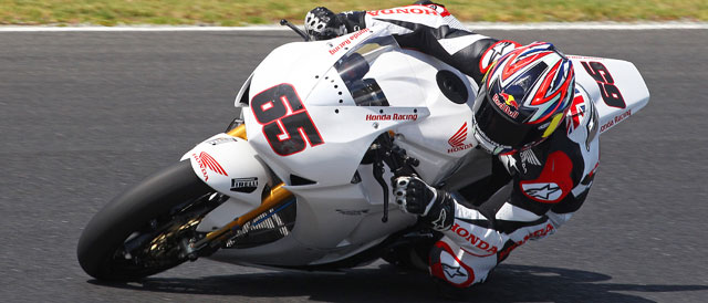 Jonathan Rea in action at Philip Island