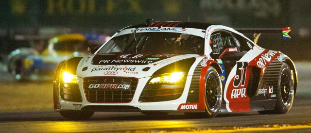 ARP Motorsports' Audi R8 GRAND-AM (Photo Credit: Audi Motorsport)