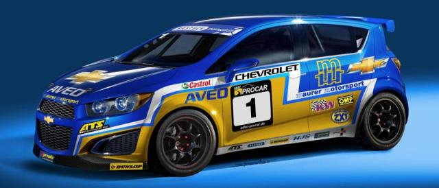 Chevrolet Aveo - Photo Credit: Maurer Motorsport