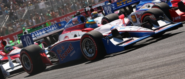 Dale Coyne Racing's no.19 during the 2011 season (Photo Credit: Indycar)