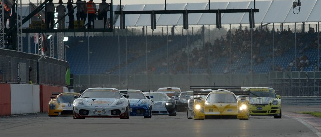The first takes the start of the 2011 Britcar 24 Hours (Photo Credit: Chris Gurton Photography)