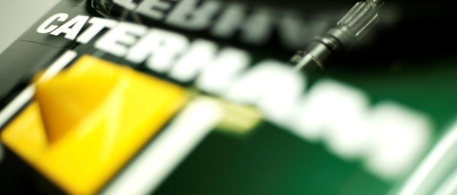 Caterham logo - Photo Credit: Drew Gibson/GP2 Series Media Service