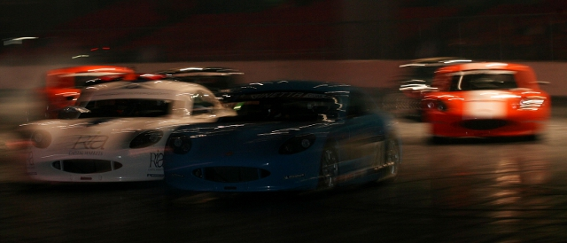 Max's racing year started with some Ginetta action live at Autosport International (Photo Credit: Jakob Ebrey Photography)