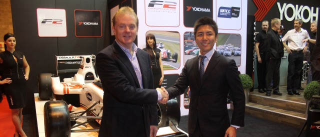 Jonathan Palmer and Kazu Sekiguchi - Photo Credit: FIA Formula Two Championship