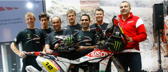 Husqvarna Rallye Team by Speedbrain