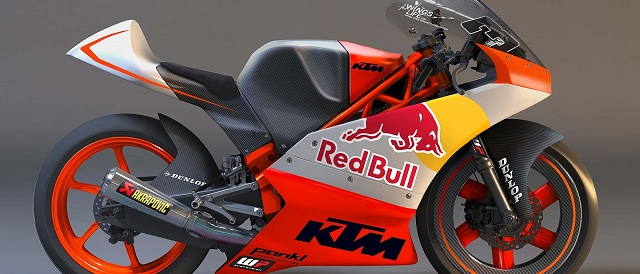 KTM's Moto3 bike - Photo Credit: MotoGP.com